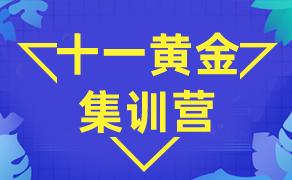 十一黄金集训班 报名即送一对一教练课程!!!