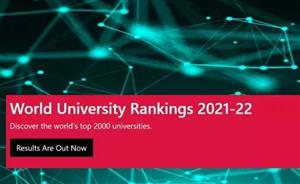 CWUR 2021-22世界大学排名新鲜出炉!