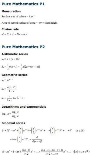 A-level数学怎样拿A*?掌握好核心词汇和公式是关键