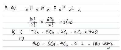 Alevel数学:帮你解决A-level排列组合题型!