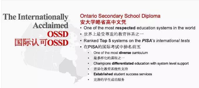 什么是OSSD国际课程?OSSD国际课程特色是什么?