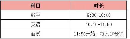 執信國際部發布8月2日入學考試指南!