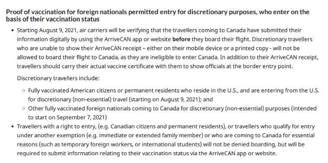 環球OSSD課程 加拿大官宣:8月9日美加邊境重開!9月7日重開國門!